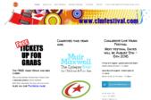 Music Festival Webdesign