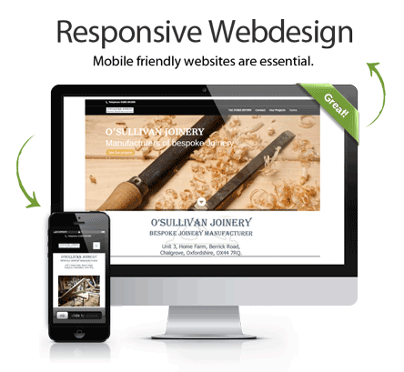 webdesign, mobile websites