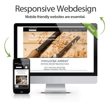 webdesign, mobile websites